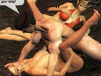3D erwachsenen Comics Sex Galerien